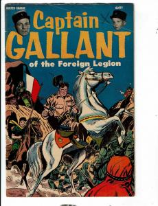Captain Gallant Of The Foreign Legion Buster Crabbe Cuffy Comic Book FN 1955 TP1