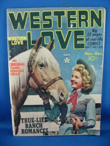 WESTERN LOVE 3 G VG PHOTO COVER 1949