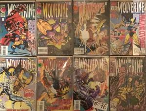 WOLVERINE (MARVEL )#60,63,85,89,93,95,96 ALL IN NM CONDITION.8BOOK LOT
