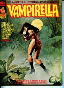 Vampirella #42 1975-Warren-Vampi cover-terror & mystery stories-VF