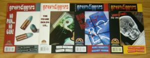 Gravediggers #1-4 VF/NM complete series CRIME FICTION acclaim comics 1996 2 3