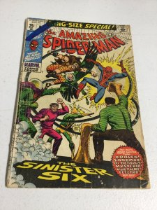 Amazing Spider-Man King Size Special 6 Gd Good 2.0 Marvel Comics