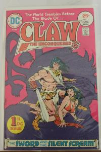 Claw the Unconquered #1 (June 1975, DC) NM