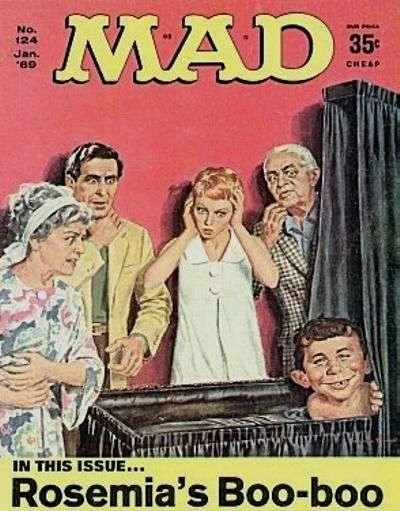 Mad (1952 series) #124, VG (Stock photo)