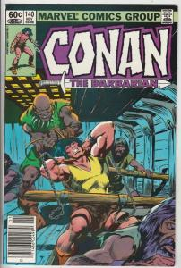 Conan the Barbarian #140 (Nov-82) NM Super-High-Grade Conan the Barbarian