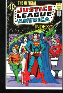 The Official Justice League of America Index #1 (1986)