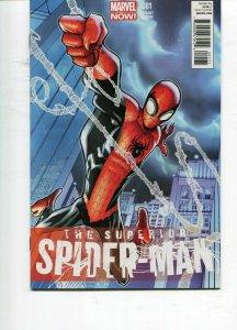 SUPERIOR SPIDER-MAN #1 - 1/50 HUMBERTO RAMOS VARIANT - 2011