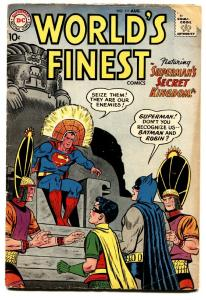 WORLD'S FINEST #111-comic book SUPERMAN/BATMAN/ROBIN G+