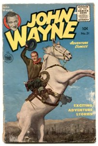 John Wayne Adventure #31 1955- Final issue- Frazetta G/VG