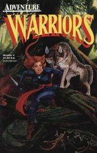 Warriors #4 VF/NM; Adventure | save on shipping - details inside