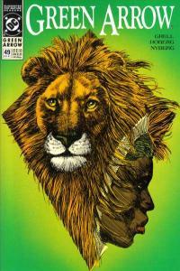 Green Arrow (1988 series) #49, VF+ (Stock photo)
