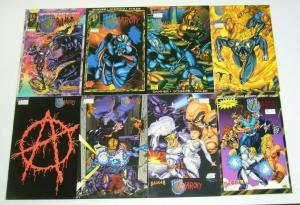Team Anarchy #1-8 FN/VF complete series - dagger comics set lot 2 3 4 5 6 7 1993