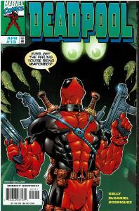 Deadpool #15 - 1st Series - 9.0 or Better