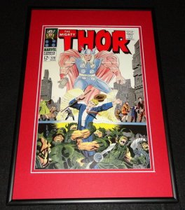 Mighty Thor #138 Framed 12x18 Cover Photo Poster Display Official Repro