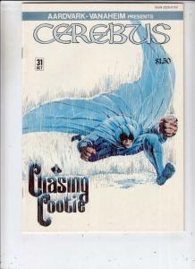 Cerebus #31 (Oct-81) NM- High-Grade Cerebus the Aardvark