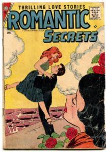Romantic Secrets #15 1958- Charlton Romance-Rose Tears cover-10¢-G/VG
