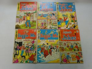 Bronze age Giant Size Archie comic lot 12 different issues avg 4.0 VG