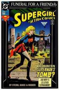 ACTION COMICS #686 (8.5-9.0) Supergirl! No Resv! 1¢ Auction! See More!!!