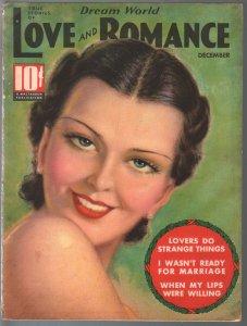 Dream World Love and Romance 12/1936-Tchetchet-spicy exploitation-FN