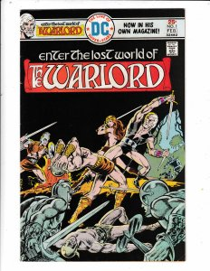 ENTER THE LOST WORLD OF THE WARLORD #1  FN/VF  DC COMICS Save on shipping