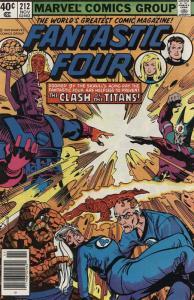 Fantastic Four (Vol. 1) #212 VF/NM; Marvel | save on shipping - details inside