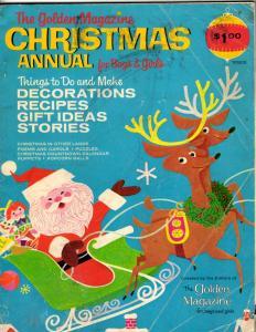 The Golden Magazine Christmas Annual For Boys & Girls 1967 Santa Reindeer DK2