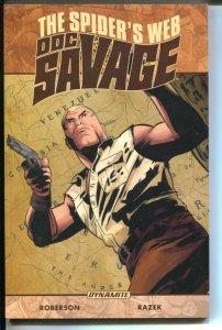 Doc Savage: the Spider's Web-Vol 1-Chris Roberson-2016-PB-VG/FN