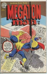 MEGATON MAN #6, VF/NM, 1984 1985, Donald Simpson, more indies in store