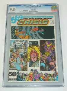 Crisis on Infinite Earths #11 CGC 9.8 marv wolfman - george perez 1986 dc comics