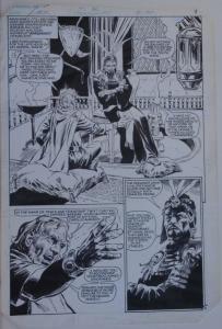 TONY DeZUNIGA original art, ARAK  #39, pg 9, 11x16, Middle eastern scene