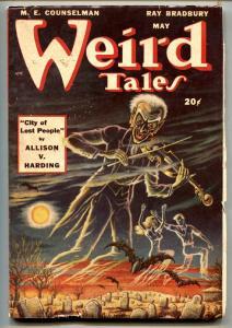 WEIRD TALES MAY 1948-WEIRD TALES-RAY BRADBURY-AUGUST DERLETH vf-
