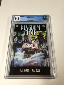 Kingdom Come 3 Cgc 9.8 White Pages Dc Comics 2030360020