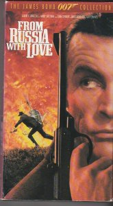 From Russia With Love VHS