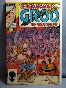 Marvel Epic GROO The Wanderer #23 AUTOGRAPHED ARAGONES & EVANIER REMARK SKETCH