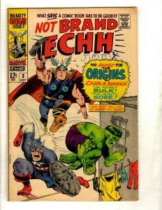 Lot Of 6 Not Brand Echh Marvel Comic Books # 3 4 5 6 7 8 Parody Humor FN-VF GK3