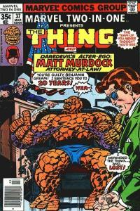 Marvel Two-In-One (1974 series) #37, VF- (Stock photo)