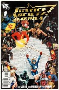 Justice Society of America #1 (8.5-9.0) Classic Alex Ross Cvr