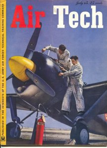 Air Tech 7/15/1943-aviation photos-air war stories-WWII era-FN