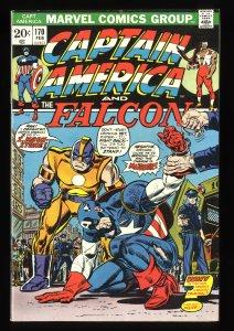 Captain America #170 VF+ 8.5