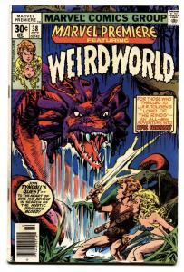 MARVEL PREMIERE #38-First Weirdworld-1977