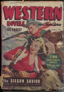 Western Novels & Short Stories-pulp-western thrills-Jocelyn-Floren-G/VG