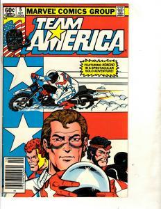 10 Team America Marvel Comics # 4 5 6 7(2) 8 9 10 11(2) WS5