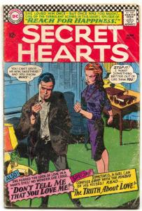 Secret Hearts #112 1966-DC ROMANCE- Smoking cover G