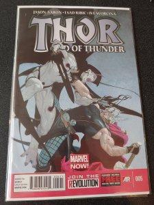 Thor God of Thunder 5 - Origin Gorr The God Butcher NM