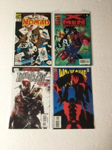 Deadpool Early Appearances Lot Nomad 4 X-men Unlimited 28 Wolverine 88 All Nm Ik