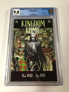 Kingdom Come 1 Cgc 9.8 White Pages 1st First Magog Dc Comics 2030360015