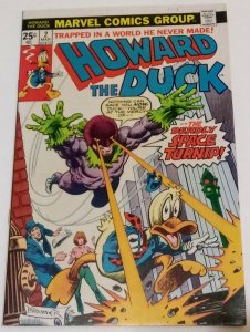Howard The Duck #2 (VF-) Bronze Age Marvel ID78H
