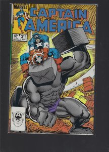 Captain America #311 (1985)