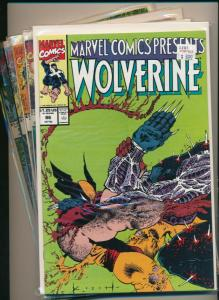 Marvel Comic Lot of 5- WOLVERINE/FLIP GHOST RIDER/CABLE F/VF #91-95 (PF624)