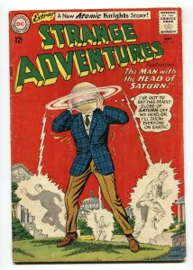 Strange Adventures #156 1963  Atomic Knights- Head of Saturn VG